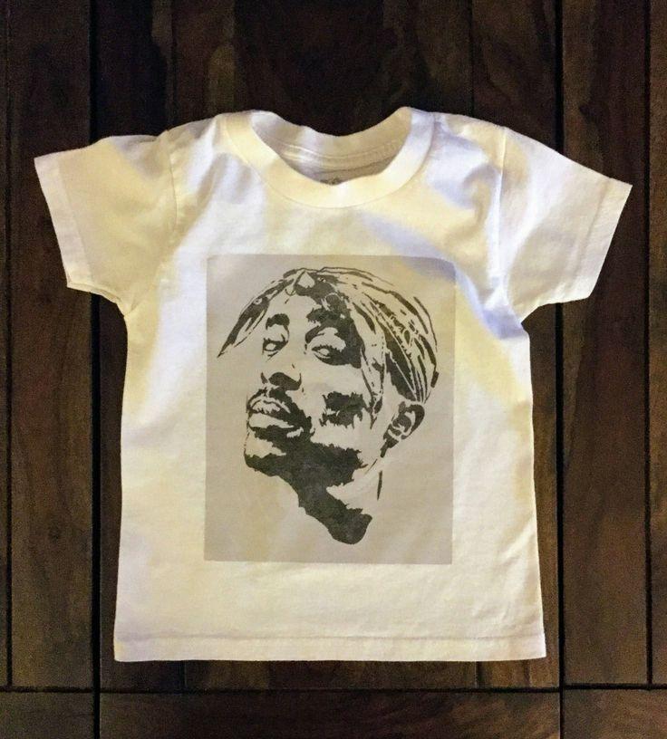 Tupac Onesie, Tupac Kids Shirt, Tupac Shirt, Short Sleeve Tupac Shirt, Hip Hop onesie, Hip Hop Shirt by LoveGreySunshine on Etsy