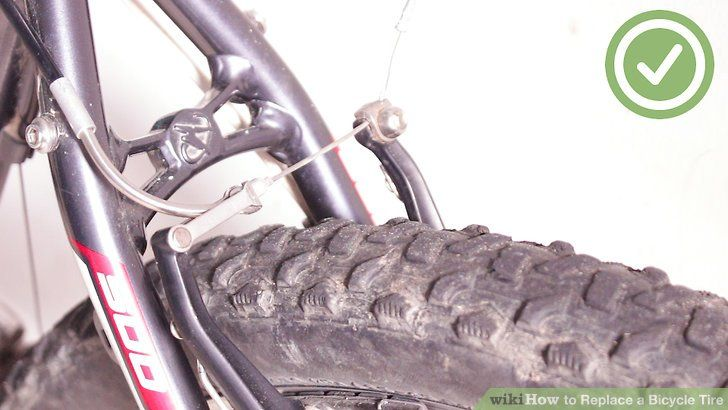 Replace A Bicycle Tire Bicycle Tires Bike Tire