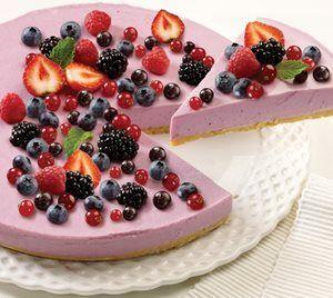 Cheesecake de Frutos Silvestres