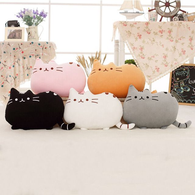 Pusheen Cat Pillow - Zoledo
