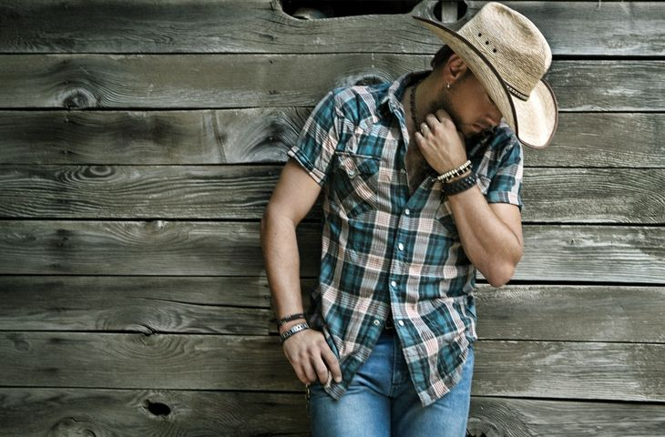 What girl doesnt LOVE a man in a cowboy hat! Or what about drinking a cold beer on a hot summer night around the camp fire - singing your own Dirt Road Anthem. I have listened to the CD 100 times over, still has not left my disk change. Enjoy :) Jason Aldean!