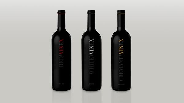 Vin-X Wines by Jordan Trofan, via Behance