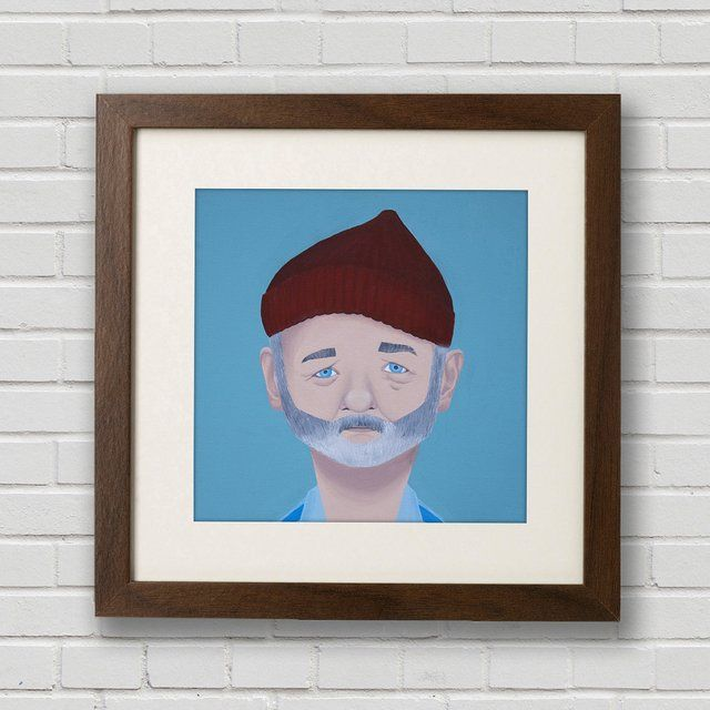 Steve Zissou Print by Mission Anderson