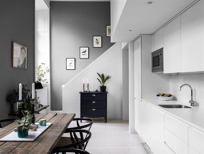 Paint Colours, Scandinavian Interiors, House Tours, Duplex, Staircases,  Lofts, Apartments, Old School House, Two Pieces