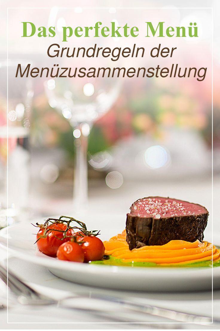 Das Perfekte Menu Von Planung Bis Ausfuhrung Lebensmittel Essen Hochzeitsmenu Menu