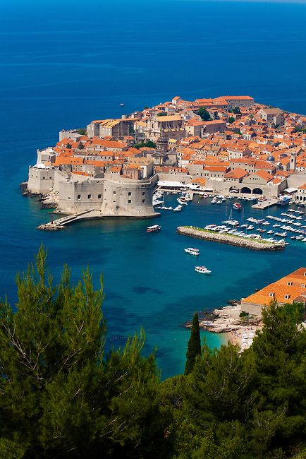 Kroatia-Dubrovnik-old-town-view