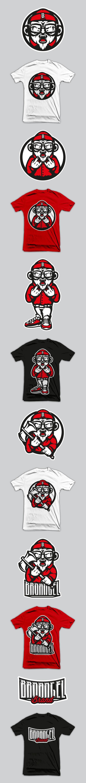 BroAngel Brand by Akuma101 , via Behance