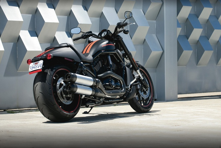 Desperately trying to increase the testosterone representation on Pinterest... 2012 Harley Davidson V-Rod Night Rod Special