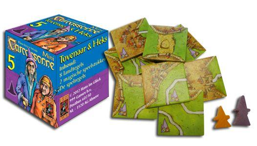 Carcassonne: Mini uitbreiding: Tovenaar & heks, 999 games