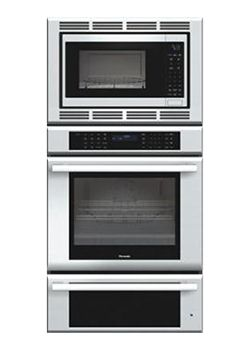 thermador masterpiece combo oven with convection microwave true convection oven u0026 warming drawer stainless steel