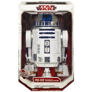 Voice Remote Controlled R2-D2. Cuz sometimes you need toys.