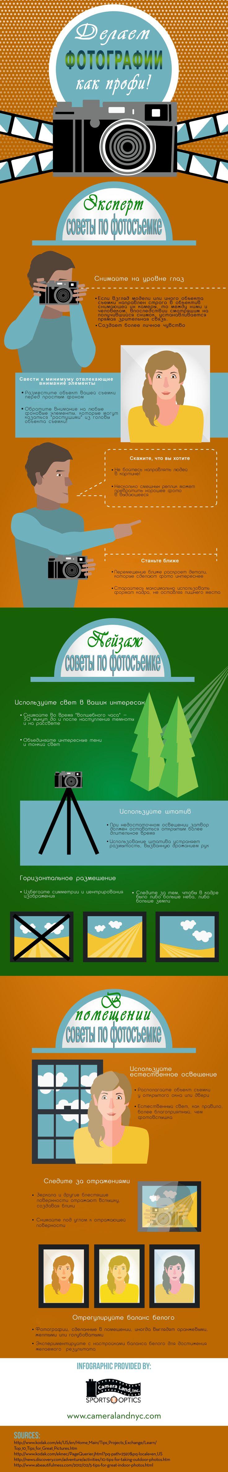 Как делать снимки как профи