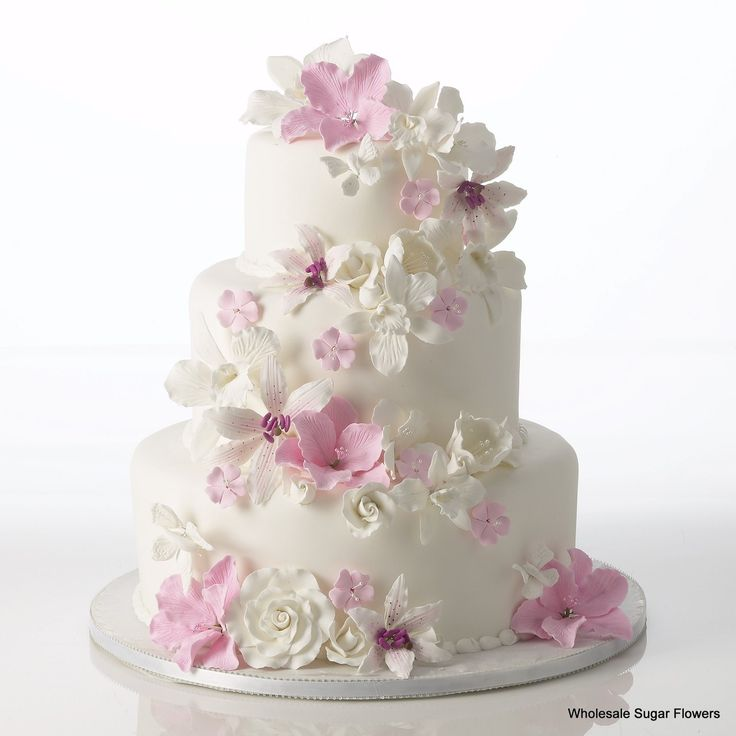 Gumpaste Flowers For Wedding Cakes: 1000+ Images About Pre-made Gumpaste Flower Cake Kits On