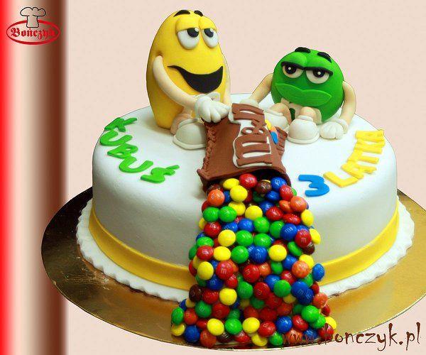 #M&M, #MM, #cake, #tort, #M&Mcake, #M&Mtort, www.bonczyk.pl
