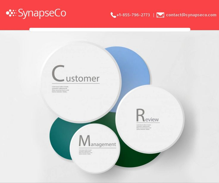 It's important to keep a close eye on the reviews provided by the esteemed customers. Maintaining a positive brand image with effective customer review management is essential for company growth and its future.   #CustomerReviewManagement #SynapseCo