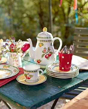 388 best images about dinnerware dish sets on pinterest - Villeroy boch vajillas ...
