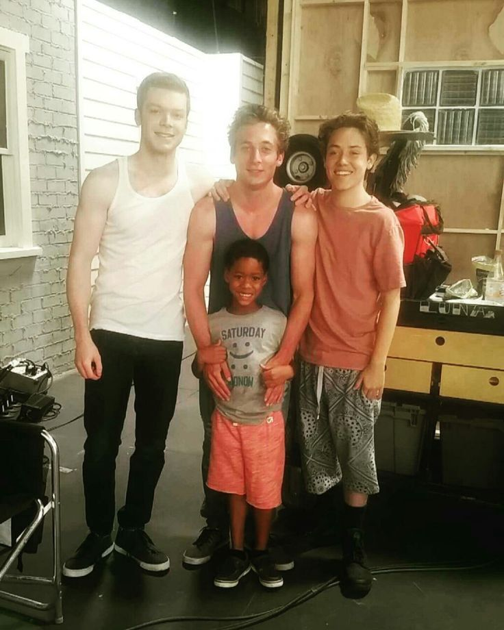 Ian, Lip, Carl, and Liam