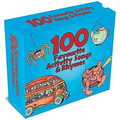 100 Favourite Activity Songs Rhymes New Sealed 3 Cd Box Set Nursery Ryhmes