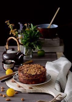 ¡Qué cosa tan dulce!: Tarta sueca con praliné de almendras {Toscakaka}