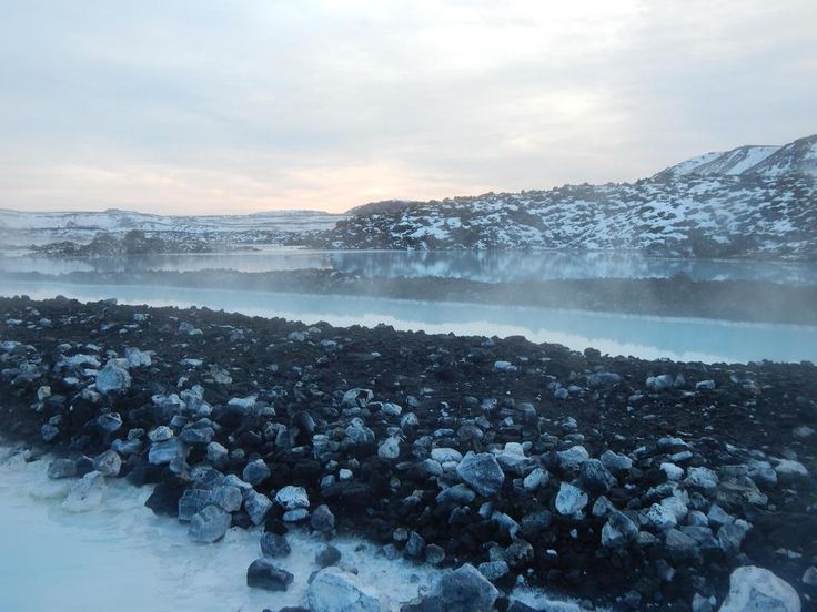 @apolloblindsHQ #MyApolloView I loved this fresh view from the blue lagoon in Iceland