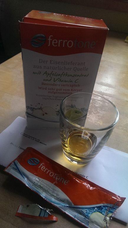 Ferrotone - Der Eisenlieferant mit Apfelsaftkonzentrat und Vitamin C
