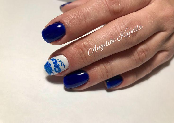 #bluenails #nailart #perfectnails