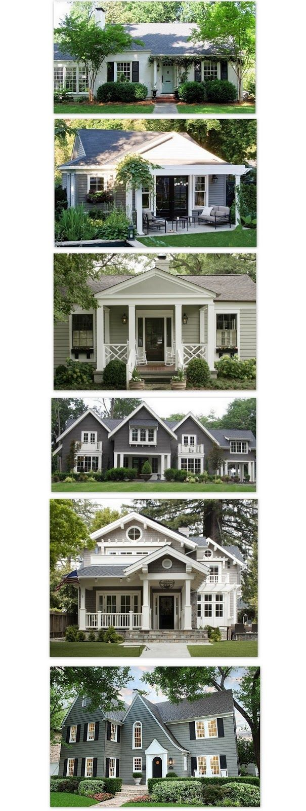 Kelley Maria: Exterior Paint I like black door, blinds and flower boxes