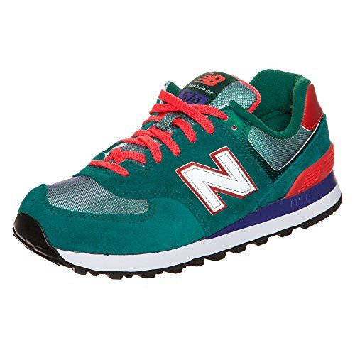New Balance 574 Core+ Sneaker Damen Grau/Pink