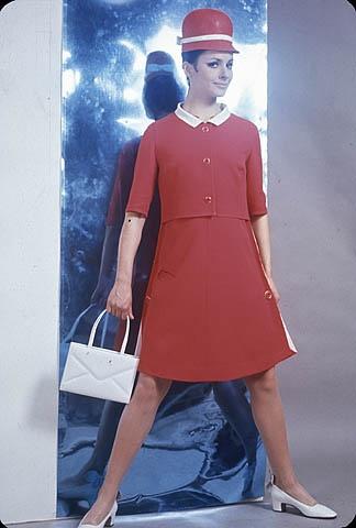 Expo 67 hostess.