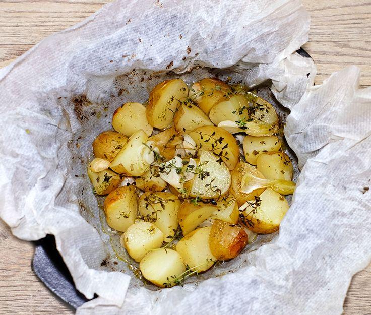 Lorsque les pommes de terre de Noirmoutier arrivent, je suis ravie, bonnottes ou sirtema, je me dépêche d'acheter ces petites nouvelles. Après les avoir vues (presque entendues) pousser depuis quelques années en me rendant à Noirmoutier au bon moment,...