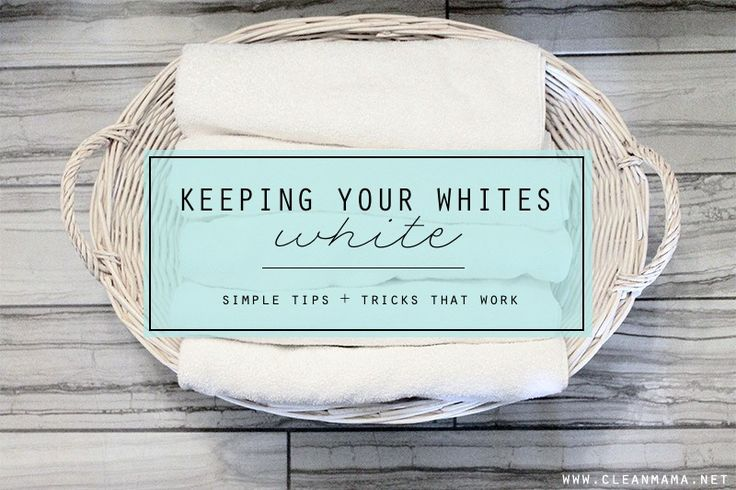 919 best clean cleaning tips images on pinterest for How to whiten dingy white t shirts