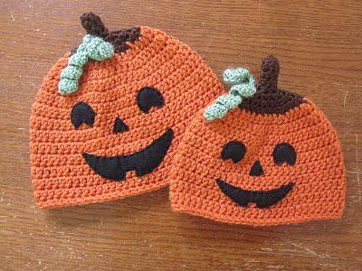 A Chick w/ Sticks: Halloween Hat Pattern - Jack  http://www.achickwsticks.com/2011/10/halloween-hat-pattern-jack.html