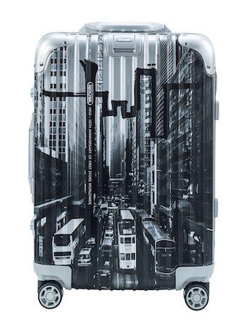 リモワ、「香港柄」スーツケース発売-海外拠点設立10周年で限定888台