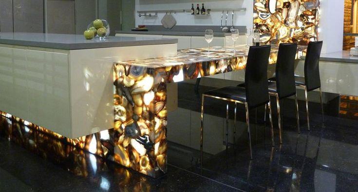 Concetto collection of Caesarstone (color: Brown Agate) OBSESSED!