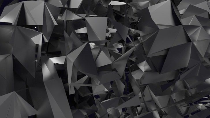 3D Geometry Wallpaper