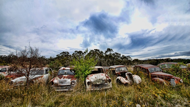 flynn's wrecking yard, cooma, nsw