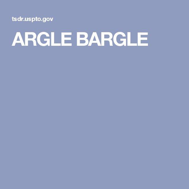 ARGLE BARGLE