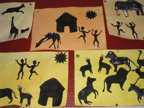 Le tour du monde en art visuel 4 la savane africaine - Animaux savane africaine ...