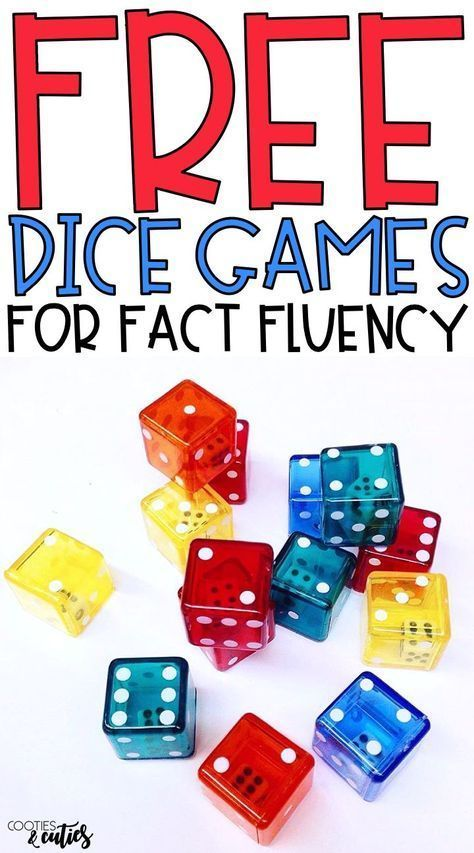 If your students struggle with multiplication fact fluency, incorporate these 5 free games into your math class for fun, engaging fact practice! #mathtips