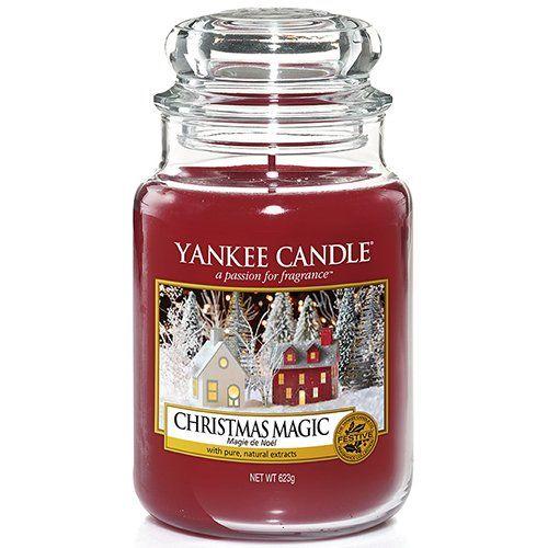 Christmas Magic 623g Duftkerzen Kerzenglaser Und Kerzen