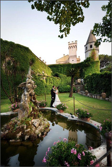 Wedding in Ravello at Villa Cimbrone, by Alfonso Longobardi