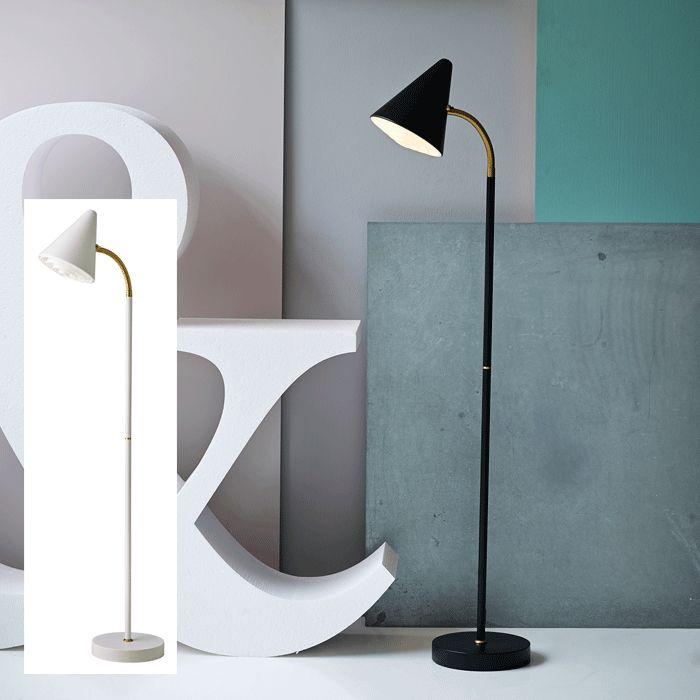 Herstal Arrow Gulvlampe Messing - Leselamper - Gulvlamper - Innebelysning | Designbelysning.no kr 1199