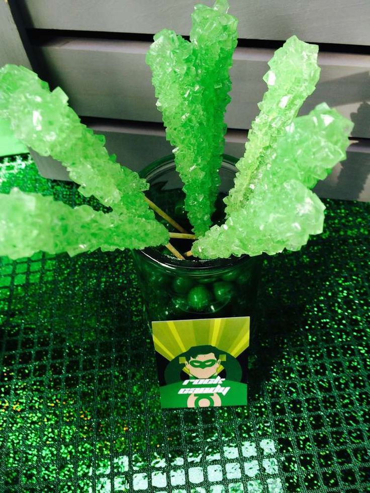 Green Lantern Birthday Party Ideas | Photo 1 of 29 | Catch My Party …
