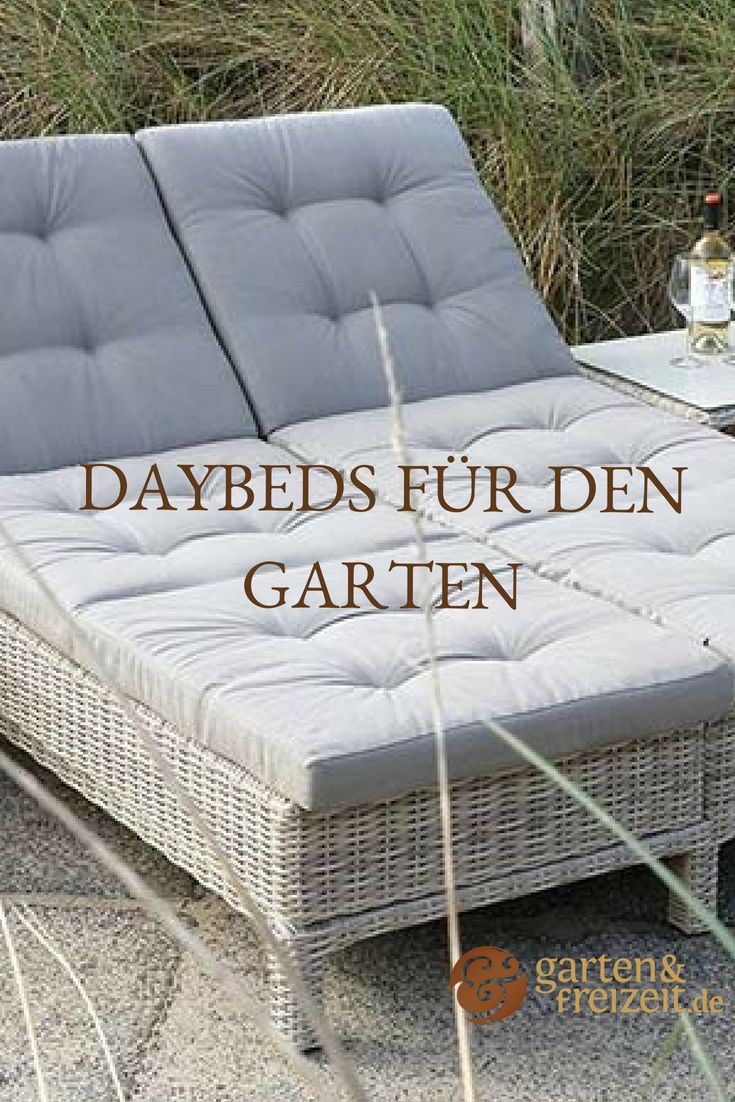 Daybed Im Garten Daybed Garten Garten Und Gartenmobel