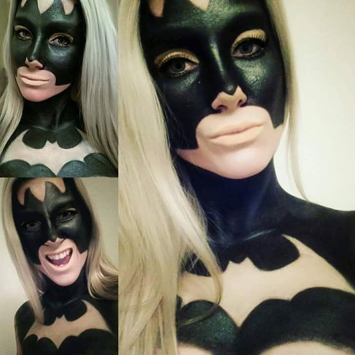 Batman Face Paint Batman Face Paint Girl Face Painting Face Painting Halloween