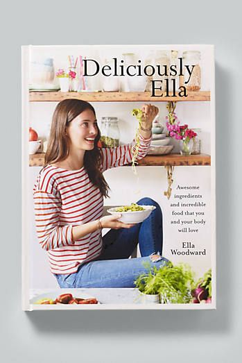 Deliciously Ella recipe book available on the Anthropologie EU website.