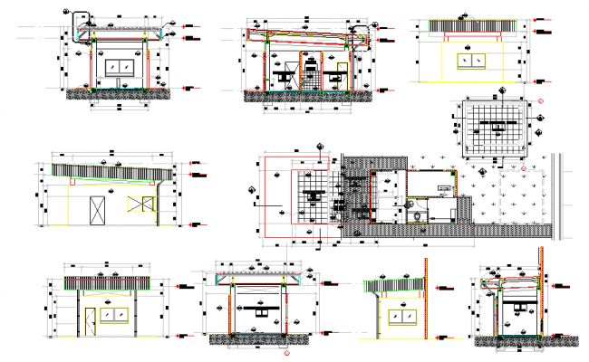 Guard house design plan guard rom pinterest for Guard house design layout