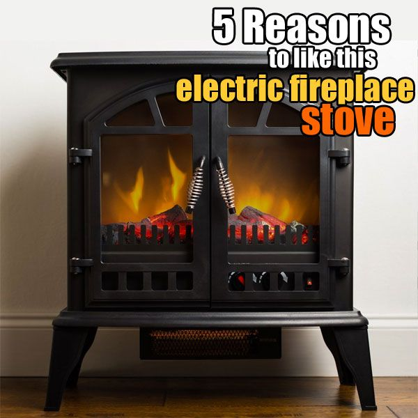 Living Room : Awesome Portable Electric Fireplace Heater Electric ...
