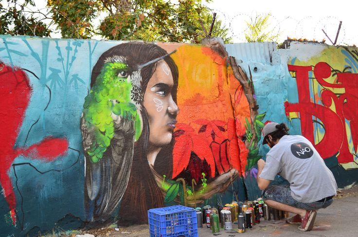 pedro donoso graffiti brutal graff - vida in gravita 2015