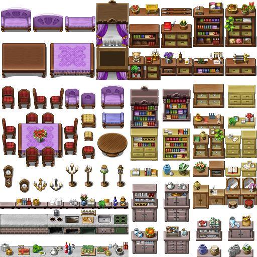 RPG Maker VX/Ace - VX like XP Tile by Ayene-chan.deviantart.com on @DeviantArt